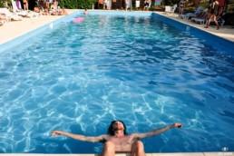Instant baignade au Montcule Festival