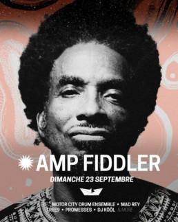 Amp Fiddler - Roscella Bay 2018
