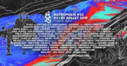 Astropolis 25 - programmation 2019