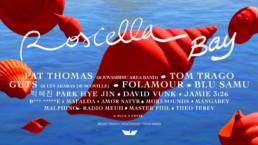 Affiche du Roscella Bay Festival 2019