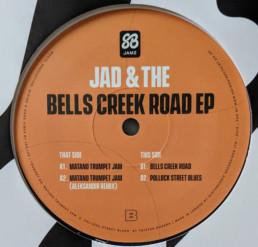 Jad & The - Bells Creek Road EP - Slothboogie